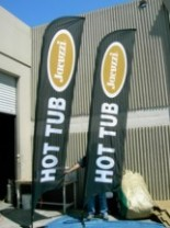 Advertising Feather Flags Atlanta | Banner Flags