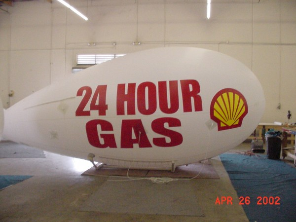 Gas Station Blimp
