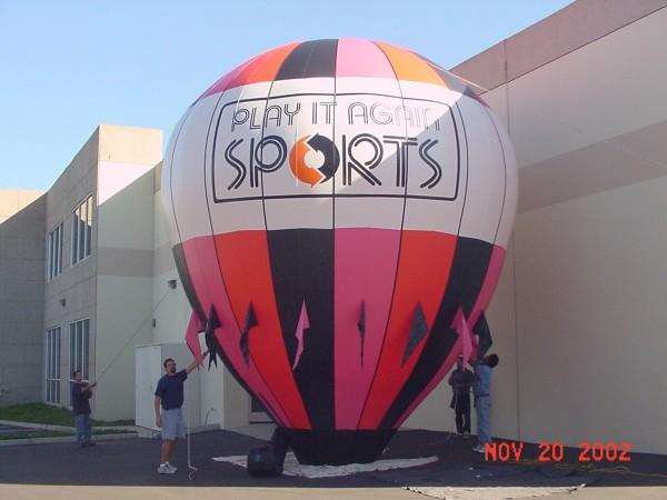 Sports Retailer Balloon