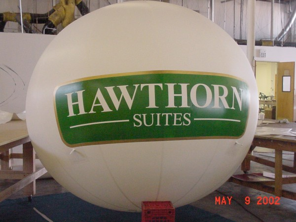 Hotel Sphere Advertising Balloon