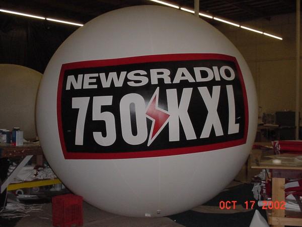 Radio Promotional Balloon