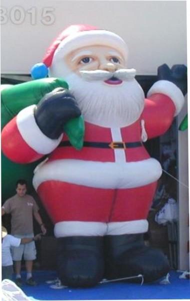 Holiday Santa Inflatable