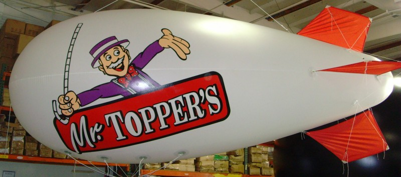 promotional blimp