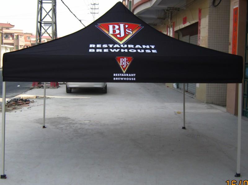 vendor logo tent